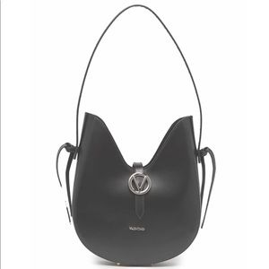 Valentino by Mario Anny Soave Dipped Shoulder Bag